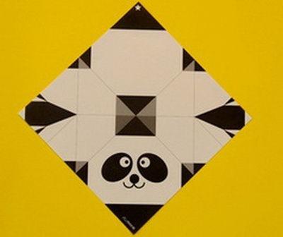 xep-giay-hinh-dau-gau-panda-h1