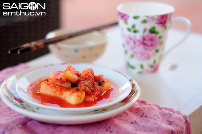 kimchi nauan Biến tấu kim chi su hào