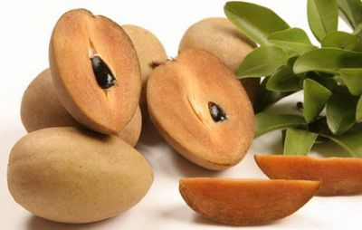 Sapoche Những loại trái cây dễ làm tăng cân