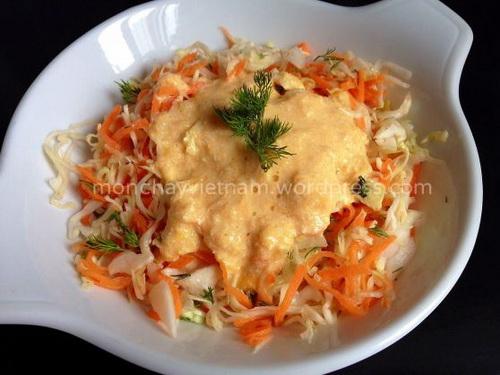 salad-bap-cai-ca-rot-sot-quyt