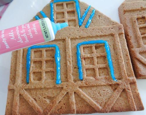 banh nha gung 17.12.14 12 Cách làm bánh nhà gừng đón giáng sinh