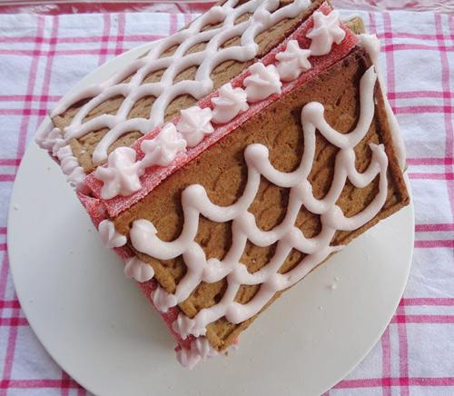banh nha gung 17.12.14 13 Cách làm bánh nhà gừng đón giáng sinh