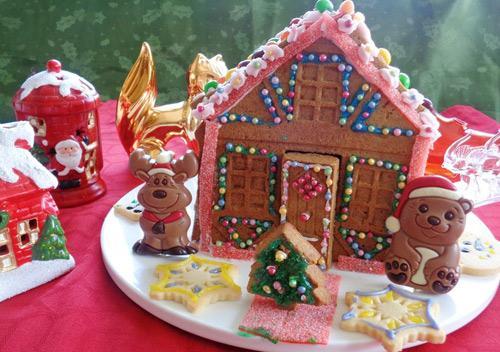 banh nha gung 17.12.14 14 Cách làm bánh nhà gừng đón giáng sinh