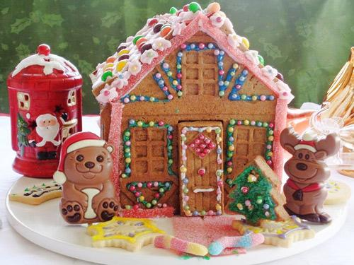 banh nha gung 17.12.14 15 Cách làm bánh nhà gừng đón giáng sinh