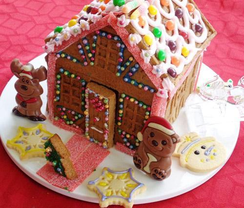 banh nha gung 17.12.14 16 Cách làm bánh nhà gừng đón giáng sinh