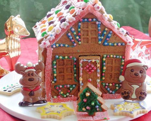 banh nha gung 17.12.14 17 Cách làm bánh nhà gừng đón giáng sinh
