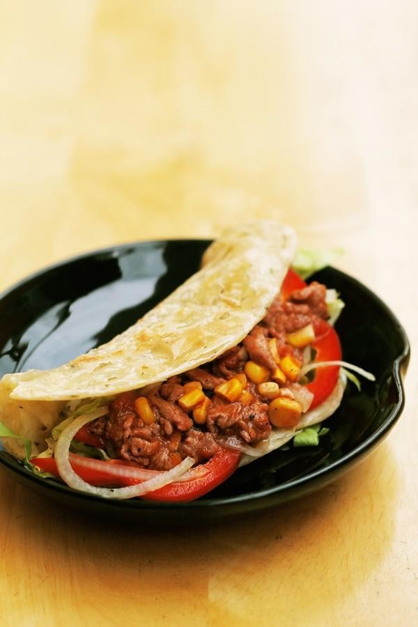banh taco 13.12.14 10 Cách làm bánh kẹp Taco từ Mexico