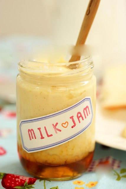 mut sua 02.12.14 4 Cách làm mứt sữa béo