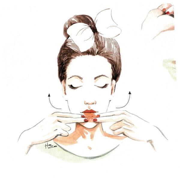Massage cho cơ mặt săn chắc và trở nên rạng ngời